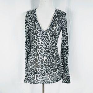 Express Cheetah Print Long Sleeve